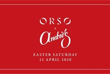 Easter Saturday I ORSO x Andre's Cucina