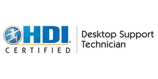 HDI Desktop Support Technician 2 Days Training in Darwin