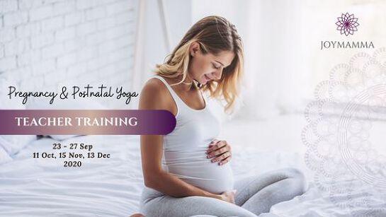FULL - Pregnancy & Postnatal Yoga Teacher Training