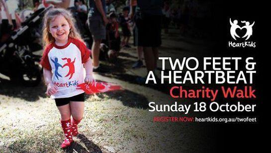 Two Feet & A Heartbeat Charity Walk
