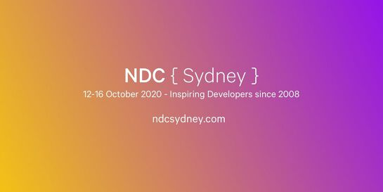 NDC Sydney 2020 - Conference for Software Developers