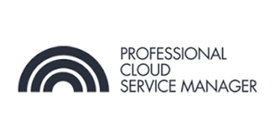 CCC-Professional Cloud Service Manager(PCSM) 3 Days Training in Melbourne