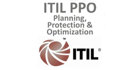 ITIL® – Planning, Protection And Optimization (PPO) 3 Days Virtual Live Training in Melbourne